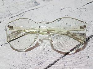 Óculos transparente