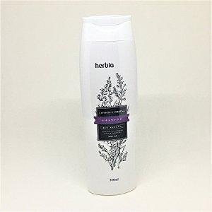 Shampoo Natural e Vegano Lavanda e Verbena ( cabelos normais a seco) Herbia 300 ml