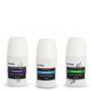 Desodorante Roll-on Natural e Vegano Herbia 50 ml