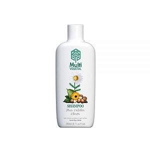 Shampoo Camomila,Trigo e Calêndula (Cabelos Claros) Multi Vegetal 240ml