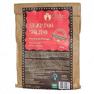 Shampoo Sólido Pitanga (todos os tipos de cabelos) Cativa 100g