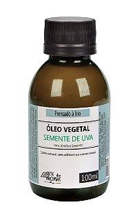 Óleo Vegetal de Semente de Uva - 100ml
