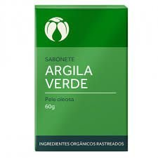 Sabonete de Argila Verde (Pele Oleosa) Cativa 60g