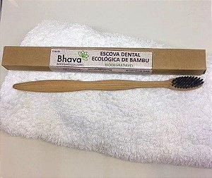 Escova de Dente Ecológica De Bambu - 100% Biodegradável - Bhava