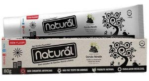 Gel Dental Carvão Ativado Bamboo, Romã e Sálvia - Orgânico Natural 80g