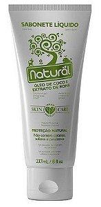 Sabonete Líquido Óleo de Coco e Romã - Orgânico Natural 237 ml