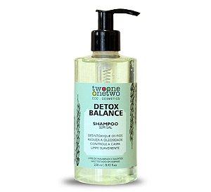 Shampoo Detox Balance Alcaçuz e Algas Vermelhas - Twoone Onetwo 250 ml