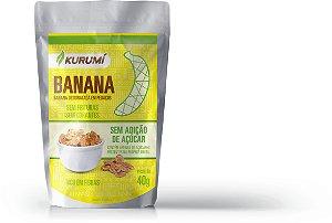 Snack Desidratado - Banana  - 40g