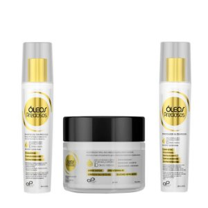 OP Beauty | Kit Home Care Óleos Precioso (3 itens)