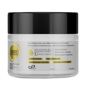 OP Beauty | Máscara Reconstrutora Oil Treats - 250 g