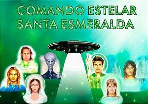 CURSO EAD CURA ENERGÉTICA ESTELAR COMANDO ESTELAR SANTA ESMERALDA