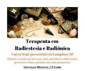 Curso Semi Presencial Terapeuta em Radiestesia e Radiônica