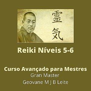 Curso EAD Reiki Avançado níveis 5-6 - Curso de Especialização para Mestres em Reiki