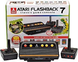 Vídeo Game Atari Flashback 7 Com 101 Jogos E 2 Controles