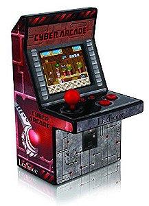 Micro Arcade Machine - 200 Jogos 8 Bits Video Game Arcade (AZUL)