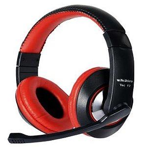 Fone De Ouvido Headset Eletro7 El7-f2 Com Microfone Games/pc