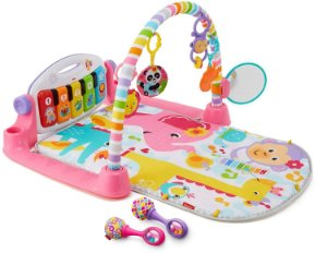 Tapete Piano Rosa Fisher-Price Deluxe Kick & Play Piano Gym