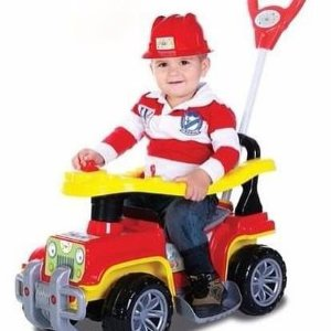 Carrinho de passeio Jipe bombeiro (Carro Banjipe)