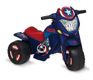 Moto Elétrica - Disney - Marvel - Capitão América - Bandeirante