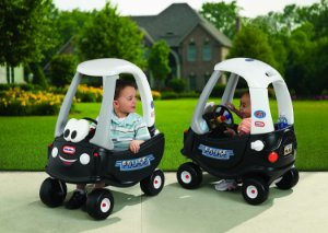Carro Coupe Policia - Little Tikes