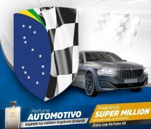 Perfume Automotivo Super Million