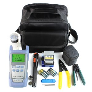 FTTH Terminal Cold Assemble Tool Kit Bag 9pcs Versão A