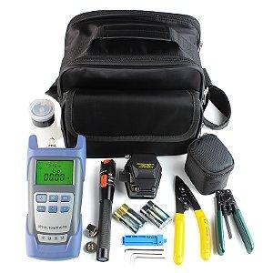 FTTH Terminal Cold Assemble Tool Kit Bag 9pcs Versão B
