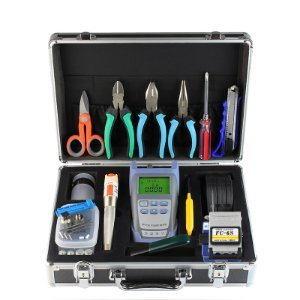 FTTH Terminal Cold Assemble Tool Kit BOX 16pcs Versão A