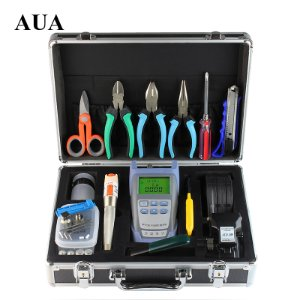 FTTH Terminal Cold Assemble Tool Kit BOX 16pcs Versão C