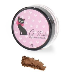 PIGMENTO ILUMINADOR BRONZE - CAT MAKE