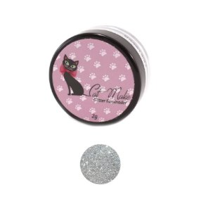 GLITTER ILUMINADOR PRATA - CAT MAKE