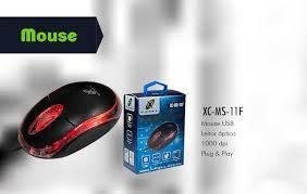 MOUSE ÓPTICO X-CELL XC-MS-11F