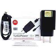 CARREGADOR MOTOROLA TURBO POWER 15+ TIPO C
