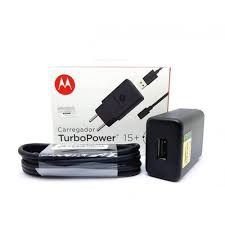 CARREGADOR MOTOROLA TURBO POWER 26.5W V8 (ORIGINAL)