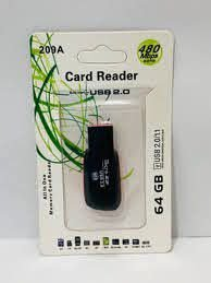 CARD READER 64GB 209A