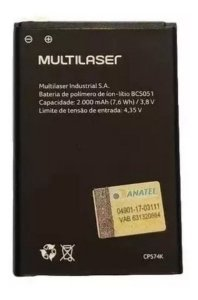 BATERIA MULTILASER ORIGINAL BCS051