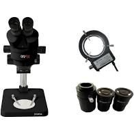 Microscópio Trinocular  Gf-37045a Vermelho Griffin