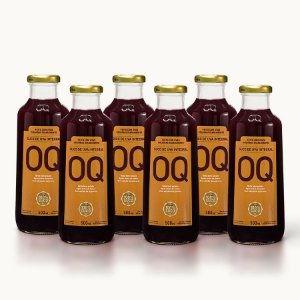 Suco de Uva Integral OQ | 500ml | Caixa 6 Garrafas