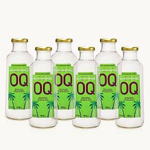ÁGUA DE COCO INTEGRAL OQ | 500ml | Caixa 6 Garrafas