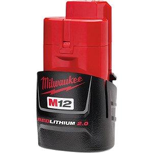 Bateria de Lítio Milwaukee M12 2,0Ah