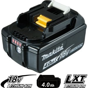 Bateria de Íons de Lítio Makita BL1840B - 18V/4,0AH