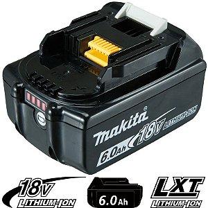 Bateria de Íons de Lítio Makita BL1860B - 18V/6,0AH