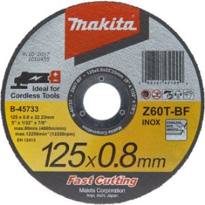 Disco de Corte Makita 125 x 0,8mm