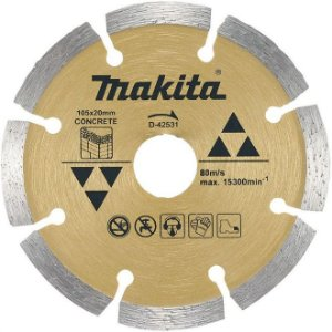Disco de Corte Segmentado Diamantado Makita para Concreto 105mm