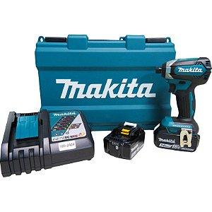 Parafusadeira de Impacto à Bateria Makita DTD153RFE