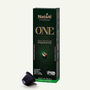 Café Orgânico Nespresso em cápsulas – Original – 10X5G