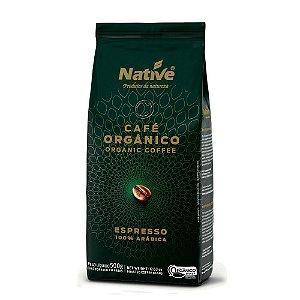 Café Orgânico em grãos 100% Arábica NATIVE 500G