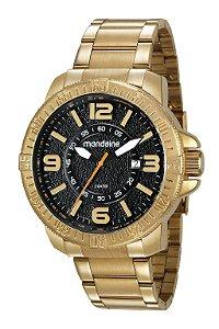 8c7771b9f66ba Relógio Mondaine Feminino Dourada e Rosa com detalhes em Vermelho ...
