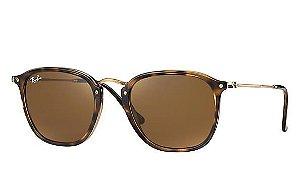 7be6425f5a227 Óculos de Sol Ray-ban Arredondado com Hastes Flexíveis e Lentes ...