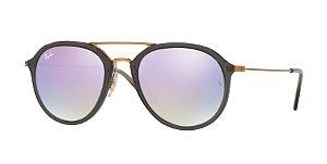 66a806b2f9c1a Óculos de Sol Ray-ban Estilo Aviador - Aviator - Piloto Cinza com Hastes em